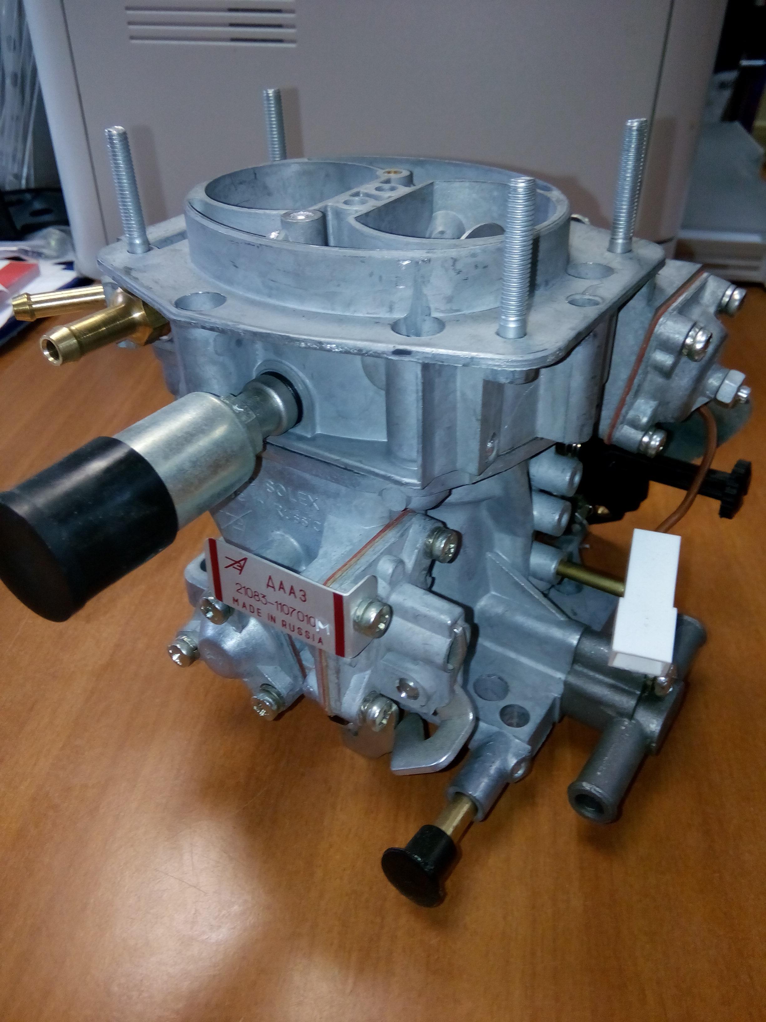 Как снять и провести ремонт карбюратора ДААЗ своими руками 95